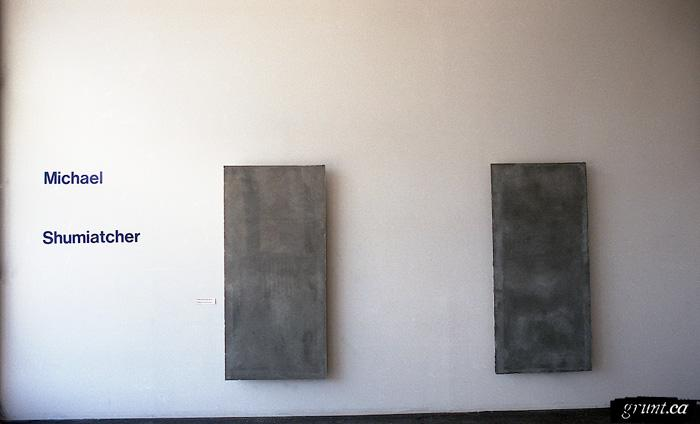 1991 04 23 Sculpture Three Donuts Michael Shumiatchertwo piece wall view